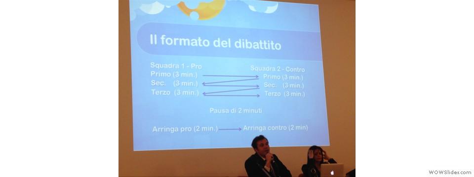 Presentazione del debate